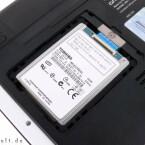 Nur einen Blick auf die Festplatte gewährt der Hersteller.
