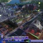 Die Stadt kann bis ins kleinste Detail angeschaut werden. Dabei erweist sich die Steuerung sehr einfach und übersichtlich.