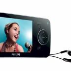 Für 170 Euro erhält man mit dem SA 5285BT einen Media-Player, der von seinem acht Gigabyte großem Speicher MP3, WMA (DRM), AAC, JPEG, BMP, AVI, und alle gängigen Videoformate via Converter SW abspielen kann. Zudem verfügt er über ein 2,8 Zoll großes LC-Farbdisplay mit 320x240 Pixeln, 65.000 Farben und 30 Bilder pro Sekunde. Desweiteren gehören ein Equalizer inkl. FullSound, ein RDS FM-Radio, ein Bluetooth 2.0+EDR-Anschluss und ein integriertes Mikrofon zu seinen Merkmalen. Der Akku reicht laut Hersteller für 30 Stunden Musik- und fünf Stunden Videowiedergabe. Zum Lieferumfang gehören die Premium In-Ear-Kopfhörer von Philips mit einer UVP von 49,90 Euro.