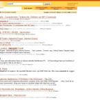 Das Ergebnis, wenn man Google, Yahoo und MSN gemeinsam suchen lässt