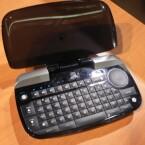 Per Bluetooth verbindet sich das Keyboard mit dem Heimkino.