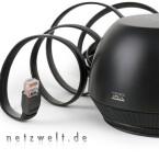 Das Ethernet-Kabel darf nicht an den PC angeschlossen werden. Es dient lediglich der Signalübertragung der Audio-Signale.