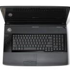 Das Acer mit CineDash Media Console hier links zu sehen. Die Tastatur hat einen angenehmen Anschlag.