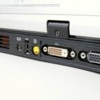 DVI, VGA sowie S-Video-Ein- und Ausgänge