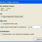 """Über das Purple Plugin Pack können Sie in Pidgin einige nützliche Funktionen nachrüsten: Das Plugin mit dem unspektakulären Namen \""""Optionen\"""" ermöglicht Ihnen, Pidgin beim Windows-Start mit aufzurufen, die Buddyliste am Bildschirmrand anzudocken und in der Taskleiste bei neuen Nachrichten zu blinken."""