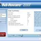 ...fasst eine Summary die Entdeckungen zusammen. Ad-Aware kann...