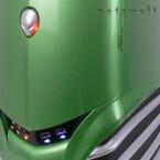 Knopflastig - eingeschaltet wird per Druck auf den Alien-Kopf.