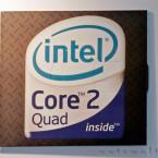 Intel steuert seine Core-2-Prozessoren mit zwei und vier Kernen bei.