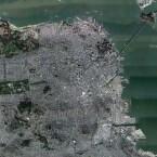 San Francisco im USGS Urban Mode