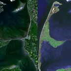 Sylt (NWW links, Google rechts)