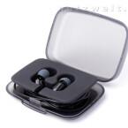 Zum Lieferumfang der etwa 75 Euro teuren Kopfhörer gehört neben einer praktischen Transportbox...