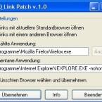 Den Link Patch, der sich im Powerpack befindet, gibt es auch als alleinstehendes Addon, das sich somit für ICQ 5.1 eignet. Sie können hier den Pfad zu dem Browser angeben, mit dem Sie Links aus ICQ öffnen wollen.