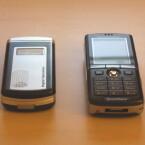 Der Größenvergleich zeigt: Das UTStarcom F3000 ist sehr handlich.