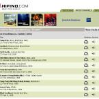 Nach der Eingabe eines Künstlers oder eines Songtitels bekommt der Suchende eine Liste mit Treffern seiner Eingabe angezeigt