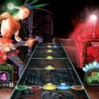 """...oder Mann. In \""""Guitar Hero\"""" kann jeder der absolute Gitarren-Gott sein."""