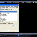 """Unter """"Extras - Optionen"""" im Reiter """"Dateiformate"""" kann der Nutzer Dateitypen mit dem Windows Media Player verknüpfen. Das Menü lässt sich mit einem Rechtsklick auf die Titelleiste des Programms öffnen."""