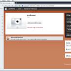 In dem Browserfenster wird nun die Website Ihres Servers angezeigt, wie er für andere Benutzer sichtbar ist. Um Veränderungen an Ihrer Server-Website vorzunehmen und Inhalte einzupflegen, hält Opera 10 auf der linken Seite eine Seitenleiste, Paneele genannt, bereit.