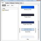 Mit der Styler-Software, welche sich dank Theme auf dem Computer einrichtet, lässt sich der Stil des Betriebssystems schnell umstellen.