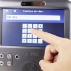 """Das Asus Eee Videophone ist ein Skype-zertifiziertes Videotelefon mit dem auch """"ganz normale"""" Telefonate möglich sind."""
