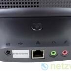 Auch ein USB-Anschluss ist vorhanden. Dieser wird allerdings nur für das Einspielen einer neuen Firmware benötigt.
