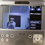 Die Auflösung der eingebauten Webcam ist mit 0,3 Megapixeln nicht mehr ganz auf der Höhe der Zeit.
