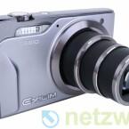 In der kompakten Kamera steckt ein Objektiv mit zehnfachem Zoom.