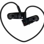 Einen MP3-Player für sportlich aktive Menschen stellt Sony mit dem W202 vor. Sämtliche Bedienelemente sind in die beiden Gehäusehälften integriert.