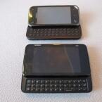 Im direkten Vergleich mit dem Nokia N97 (im Bild oben) zeigt sich die wahre Größe des N900. (Bild: netzwelt)