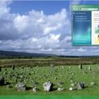 Eine Felsformation in Nordirland, Großbritannien.