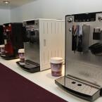 Das Mindener Unternehmen zeigte mit dem Kaffeevollautomaten auf der IFA sein neues Milchschaum-Konzept.