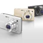 Zusätzlich gibt es die Kamera noch in Silber und Gold.