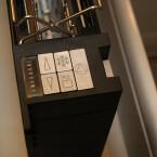 Zu den Funktionen des Einbautoasters zählt auch eine Röstgradeinstellung mit LED-Anzeige sowie Auftau- und Aufwärmfunktion.