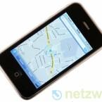"""Innerhalb des Programmes """"Karten"""" richtet sich die Ansicht dank des integrierten iPhone-Kompasses nun automatisch aus."""