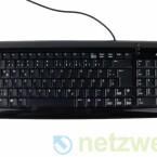 Die Tastatur eignet sich auch zum längeren tippen.