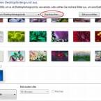 """Der Klick auf """"Durchsuchen"""" öffnet das Dateiauswahlfenster zum Hinzufügen eigener Fotos."""