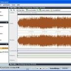 Audiomaterial können Nutzer mit Roxio Soud Editor schneiden, entstören oder mit Effekten versehen.