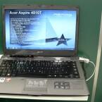 Einige Modelle verfügen über eine dedizierte Grafikkarte ATI Mobility Radeon HD4330.