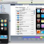 Mit iTunes 9 und iPhone OS 3.1 erhält der Anwender die Möglichkeit, iPhone Apps bereits auf dem Computer zu ordnen.