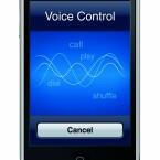 """Ein Sekunde den Home-Button drücken und schon ist das neue iPhone bereit für Sprachsteuerung: """"Steve Jobs anrufen"""", """"Spiele Musik von Coldplay""""..."""
