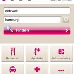 Neben der deutschlandweiten Suche nach Telefonbucheinträgen enthält das kostenlose iPhone-App ein komplettes Branchen-Verzeichnis