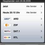 Das Portal zum Fernseh-, Kino- und Event-Programm hilft auch auf dem iPhone, die Freizeit aktiver zu gestalten.