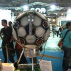 Der Fifa-Griller von der Seite der Teilnehmer.