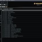 Ausgewählte Titel verschiedener Künstler können einfach per Drag-and-Drop in die Playliste geschoben werden.