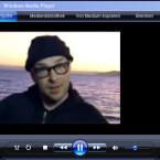 Vorschau von Musikvideos startet im Windows Media Player.