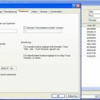 Unter F9 > Dateinamen kann man die Bezeichnung für zukünftige MP3-Dateien ändern. Die Legende erklärt die einzelnen Möglichkeiten.