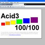 Opera 10 beta besteht den Acid3-Test zu 100 Prozent. Damit ist entspricht der Browser allen wichtigen Webstandards.
