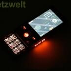 Im Walkman-Modus sind alle relevanten Tasten hintergrundbeleuchtet.