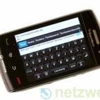 Verbessert wurde vom Hersteller vor allem der Touchscreen. Eingaben von längeren Texten sind nun problemlos machbar.