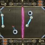 Eine Art surrealistisches Ballspiel ist Rebound.