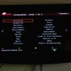 Die Kanäle lassen sich nach Kategorien, Sprache und Titel sortieren.